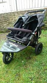 Nipper 360 Double Buggy Version 4 Black