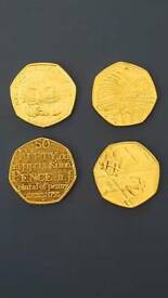 50 pence Rare coins