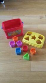 Plastic shape sorter 😊