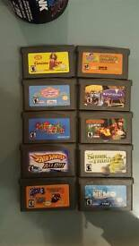American GBA Game Boy Advance Games also play on Original DS and DS Lite