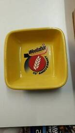 Weetabix Bowls 4 Brand New in box 70th anniversary collectable