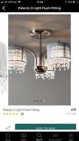 Palazzo 3 light flush fitting - NEXT RRP £75