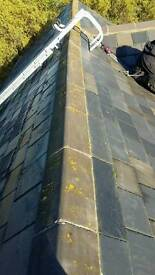 Roofing and building work. Chimney repairs and bird guards / cowls