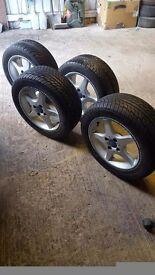 Kosei Japanese Racing Wheels 205/50/15