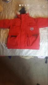 Canada Goose unisex Red Small Kids