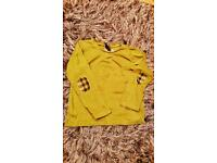 BURBERRY LONG SLEEVE T SHIRT 2YR GIRLS PLUS FREE DELIVERY