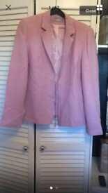Wallis pink blazer size 16