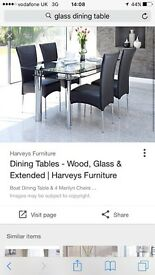Dining table - no chairs -free