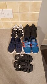 Boys shoes size 7. Nike. Adidas. River island. All immaclate