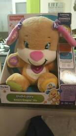 Fisher Fisherprice Laugh and Learn Puppy