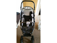 baby pram puschair stroller car seat carrycot travel system