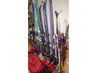 ***BARGAINS*** CHEAP Skis, poles, boots and bags. Skis from £15, poles,boots and bags from £5