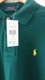 Ralph Lauren long sleeved polo shirt new