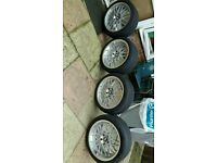"18"" 3 series bmw alloy wheels"