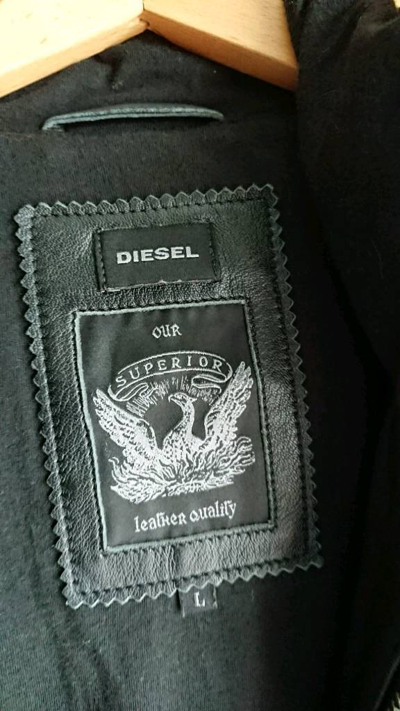 Diesel Superior Leather Jacket