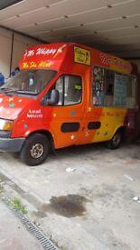 Ice cream van ,excellent condition