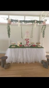 Arbor with Silk Floral & Cake swing Beverly Hills Hurstville Area Preview