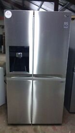 LG Water and ice dispenser American fridge freezer