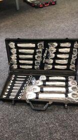 Ratchet Spanner 22pcs Fixed Head Tool Set