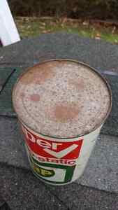 Rare Vintage BP Oil Super visco-static full oil can 10w40 Cambridge Kitchener Area image 4