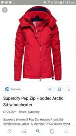 Red super dry - sd windcheater
