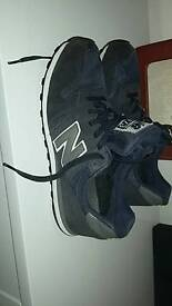 New balance 373 size 8 blue with grey boys mens ladies