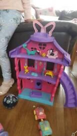Toys Minnie mouse,Castle