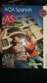 AQA AS Spanish book