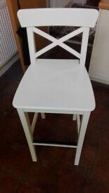 High seats table chairs IKEA 4 pcs