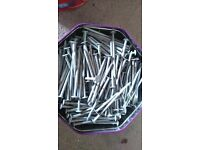 50 plus kg of nails for sale