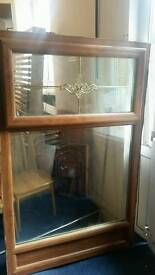 Pvc double glazed window mahogany