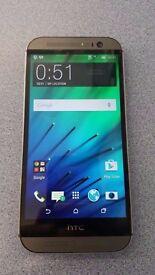 HTC ONE M8 UNLOCKED WITH RECEIPT