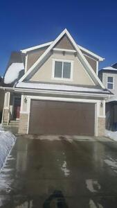 2013 built attached Garage house for  rent in Copperfield