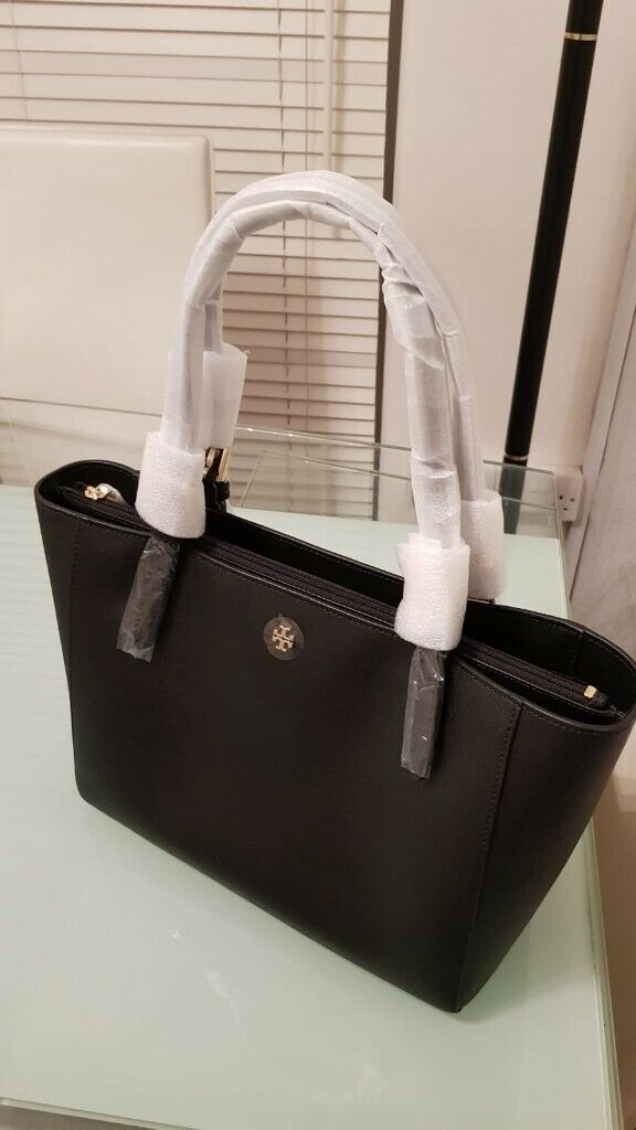 5f025bd51531 Brand New Tory Burch York Small Buckle Tote Bag - Black