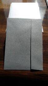 C5 Pearlescent Silver envelopes