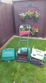 Qualcast Classic 30 Electric Lawnmower with Scarifier