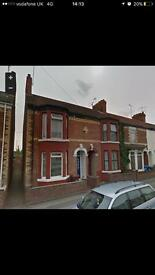 Three Bedroom House to rent, Ceylon Street Hull