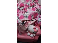 Hello kitty bedding and accessories