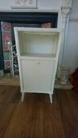 Vintage bedside cabinet