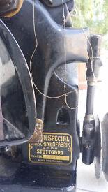 Union Special coverstitch machine , belt loops