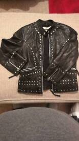 Topshop Soft leather ladies jacket
