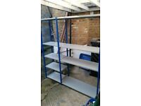Metal 2 Bay Racking Storage Shelves
