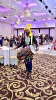 Professional dhol player Bhangra teams also available