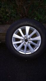 MAZDA CX 5 SPARE WHEEL AND TYRE