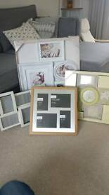 4x collage photo frames. 2 brand new.