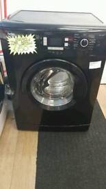 BEKO 7KG LOAD 1400 SPIN WASHING MACHINE IN BLACK