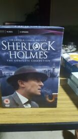 Sherlock Holmes the complete collection.