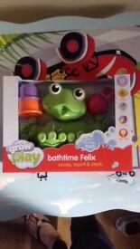 Brand new in box bath toy