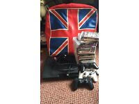 PS3 mega bundle 160gb 4 controllers 21games