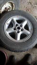 Discovery 2 or p38 16 inch alloy wheels